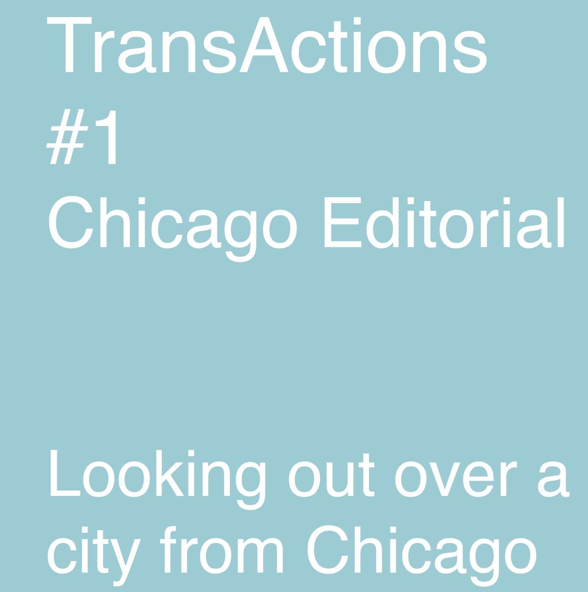 Chicago editorial 1
