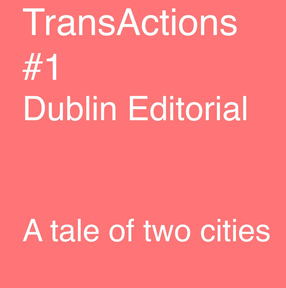 dublin editorial 1